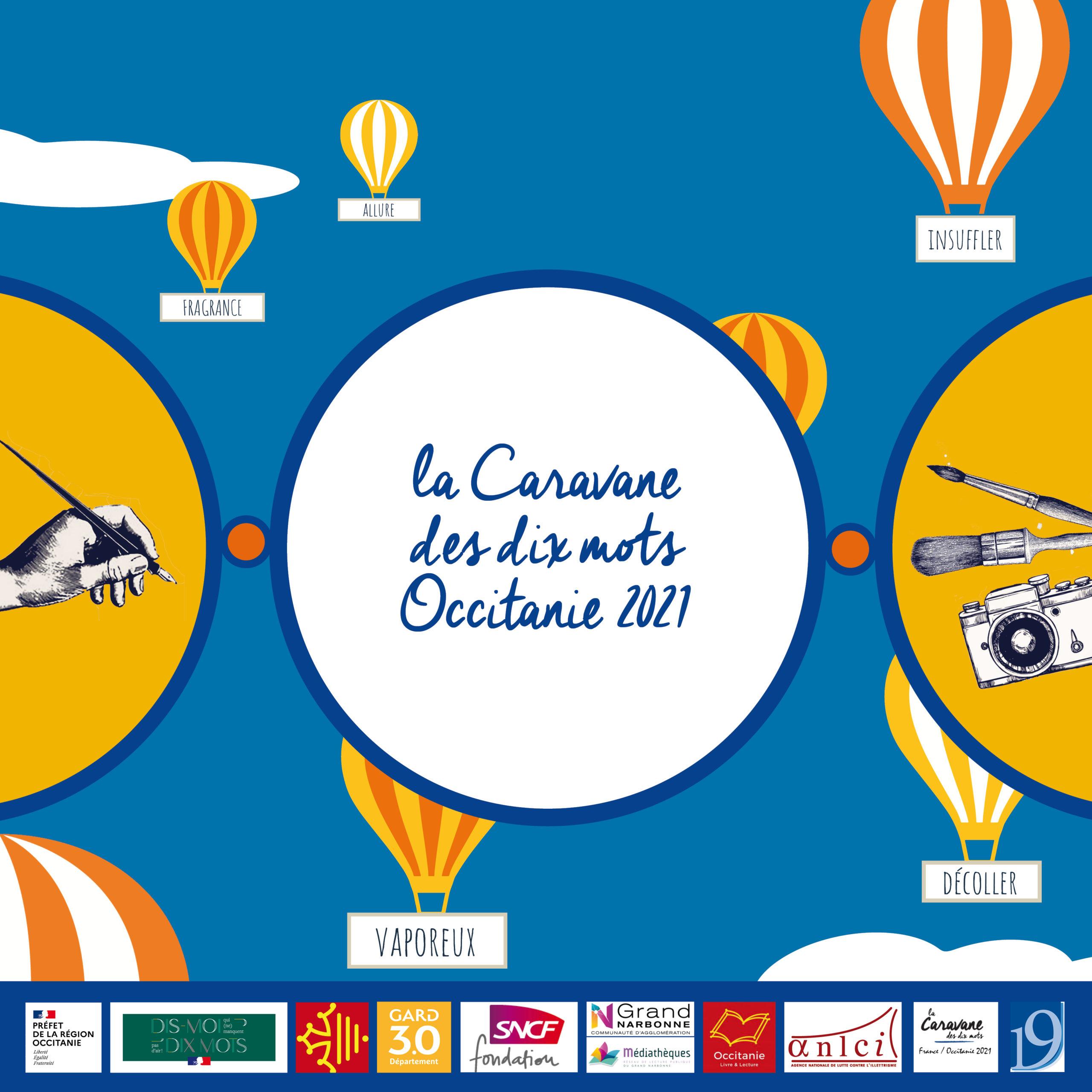 La Caravane des dix mots Occitanie 2021