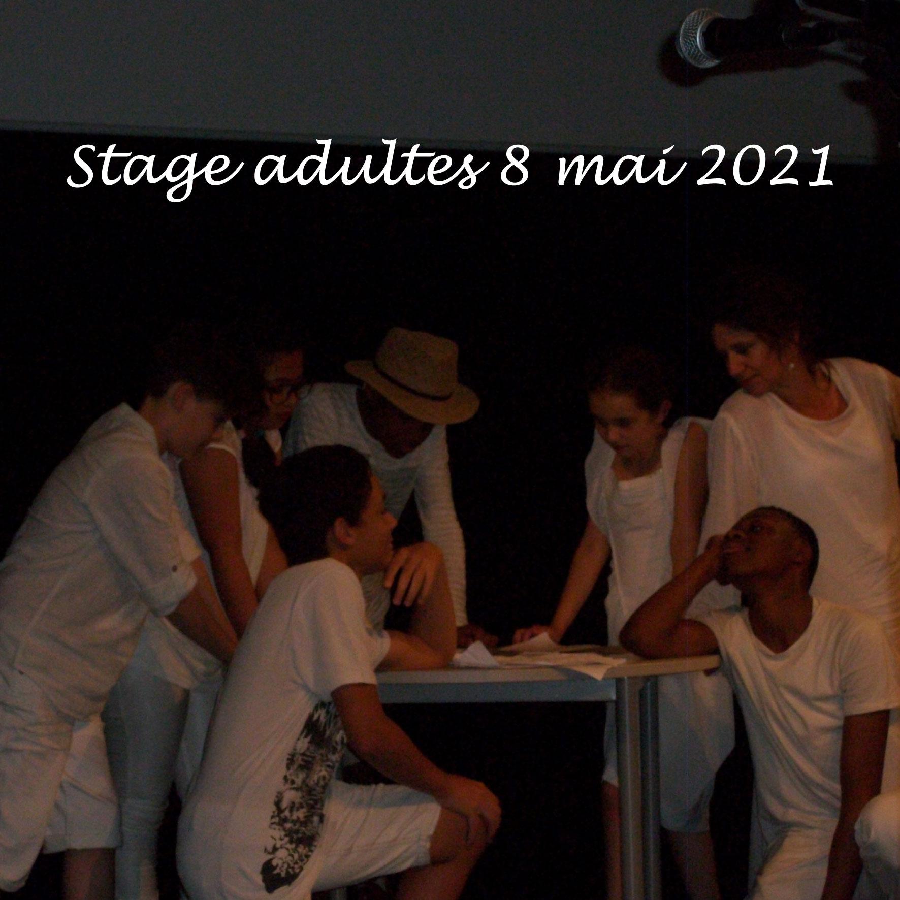 Stage adultes Libre en soi, Libre en scène, le 8 mai 2021