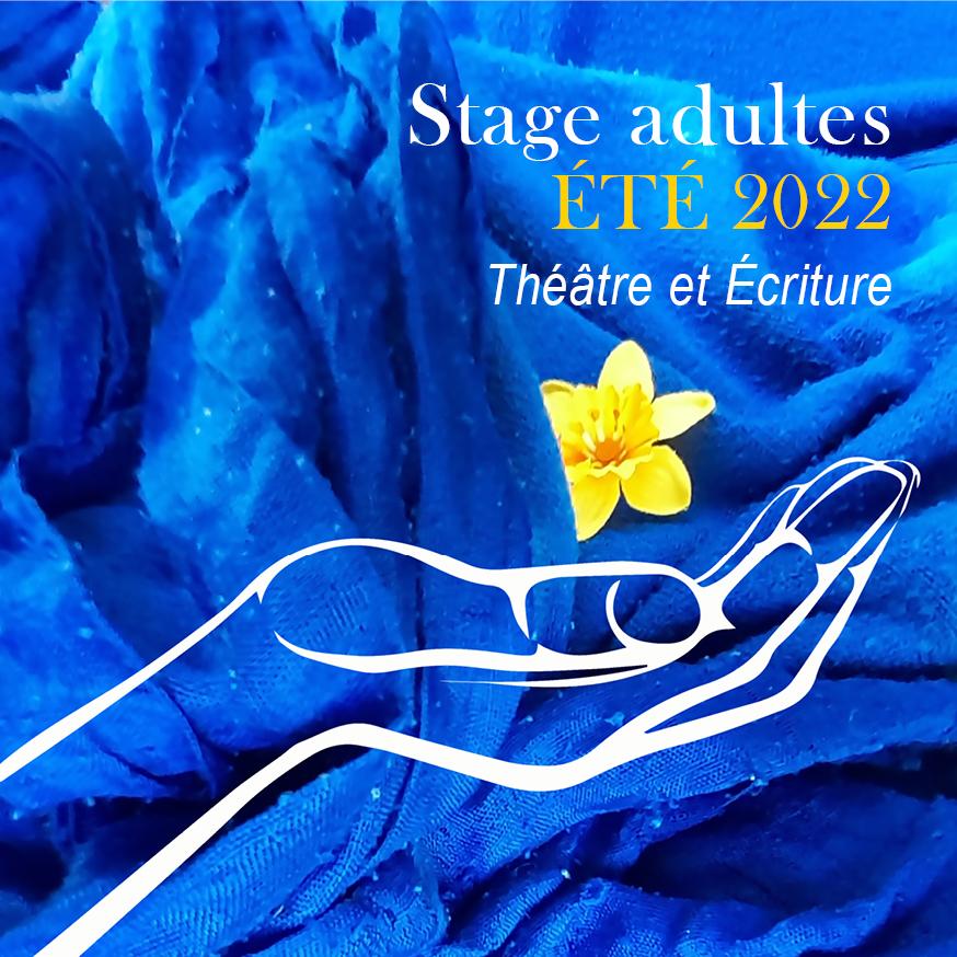 Stage Théâtre et écriture /adultes