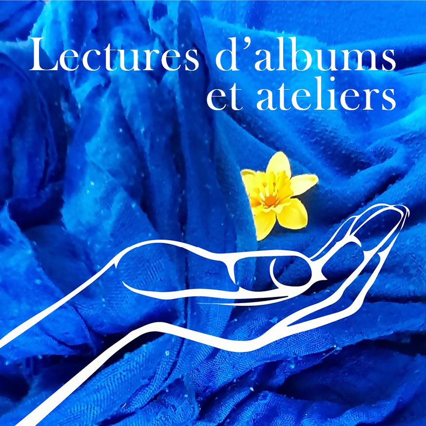 Lectures d'albums et ateliers