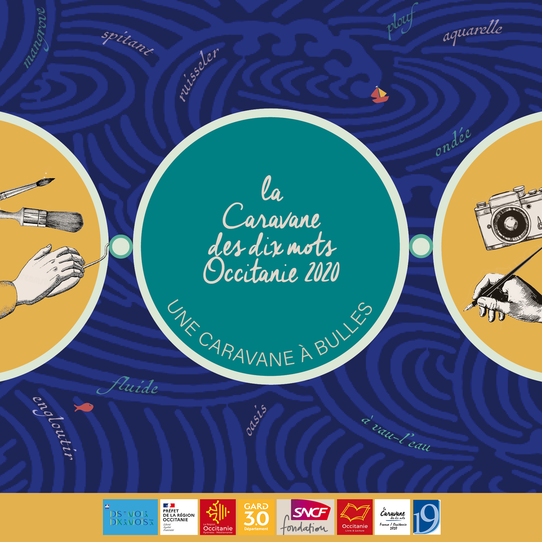 La Caravane des dix mots Occitanie 2020