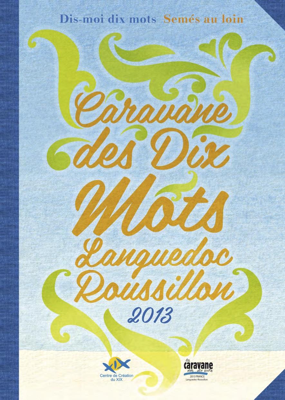 La Caravane des dix mots Occitanie 2013