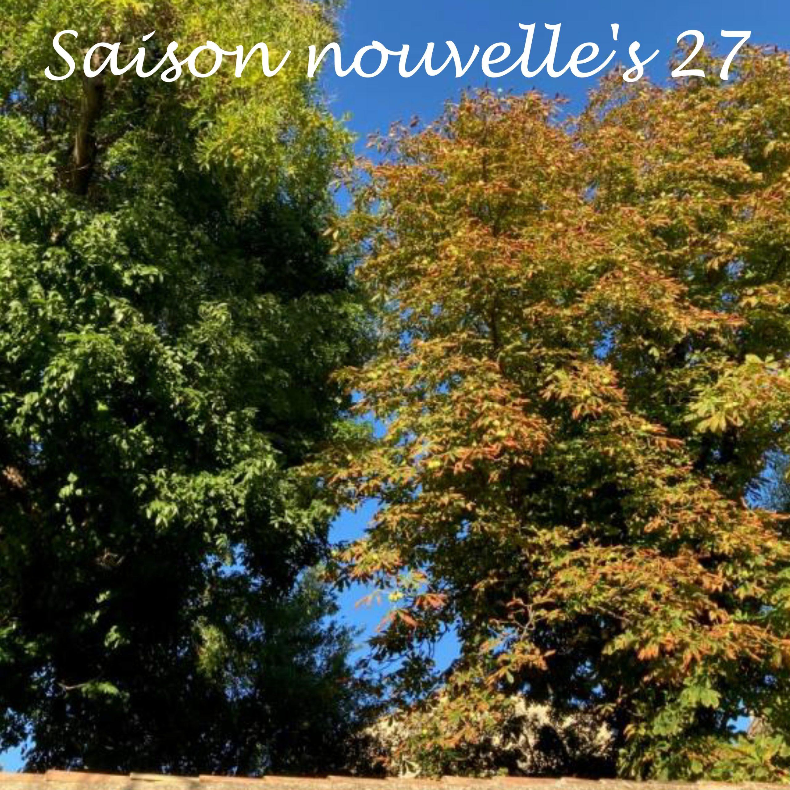 Saison Nouvelle's 27 / automne 2021