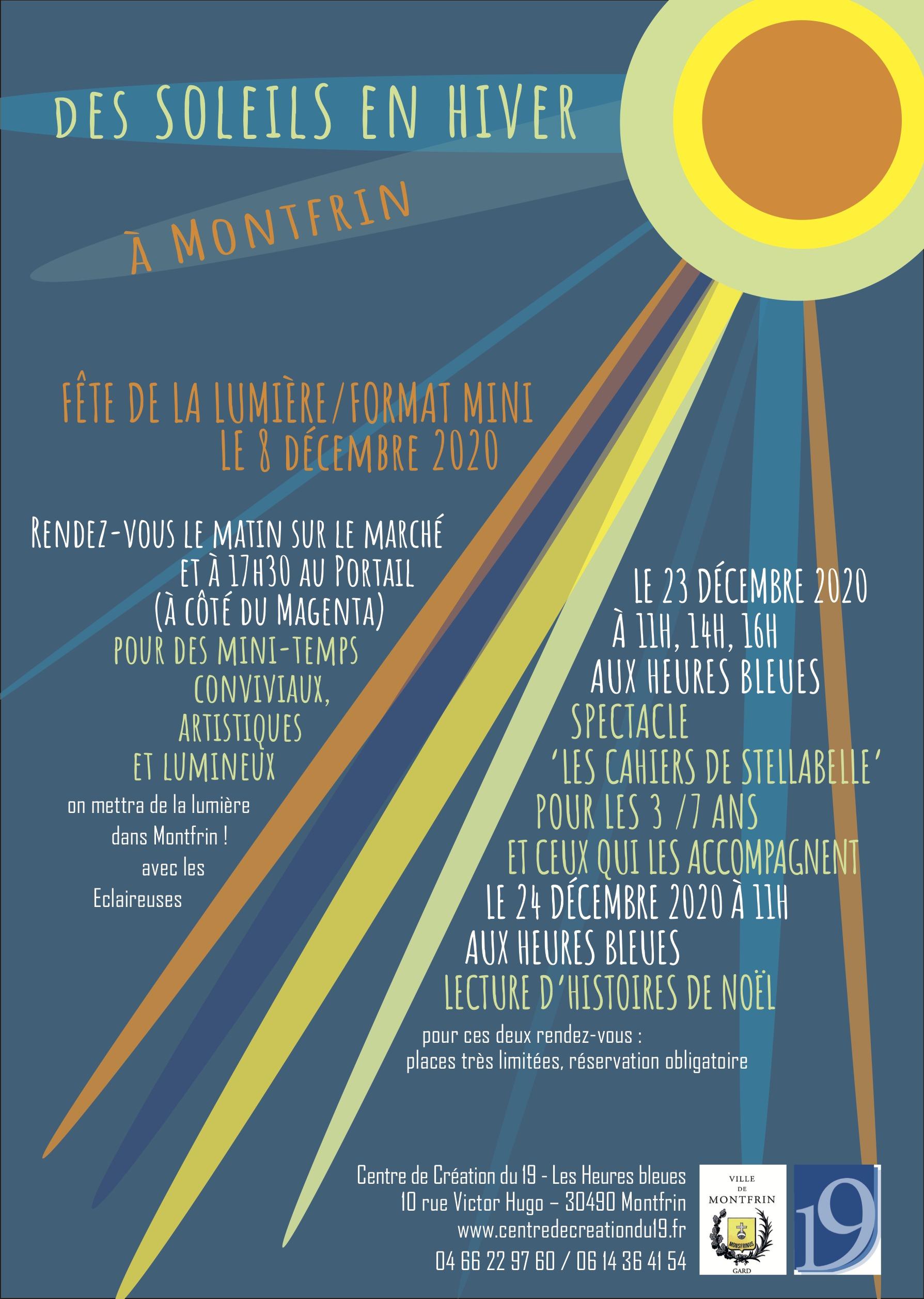 Des soleils en hiver à Montfrin